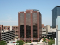 A photo of Campau Square Plaza