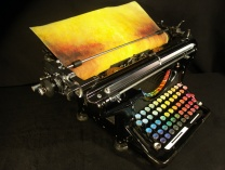 A photo of Chromatic Typewriter II