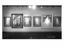 A photo of Studies In Light and Form  The Chicago Seven  and Michigan Avenue Bridge Sculptures
