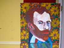 A photo of VanGogh Pez